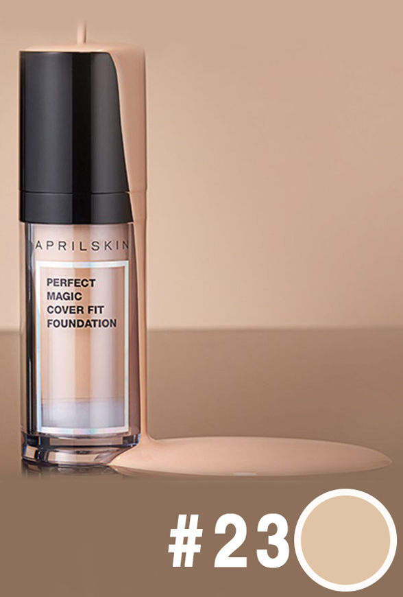 Picture of APRIL SKIN | Perfect Magic Cover Fit Foundation #23 Natural Beige