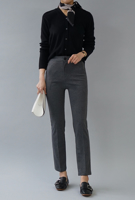 Picture of By BLUE LABEL | Perfect Fit no. 51 Mochi Slacks #Charcoal