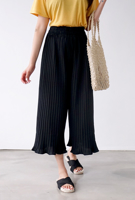 Picture of By BLUE LABEL | Cool Pleats Pants #Black