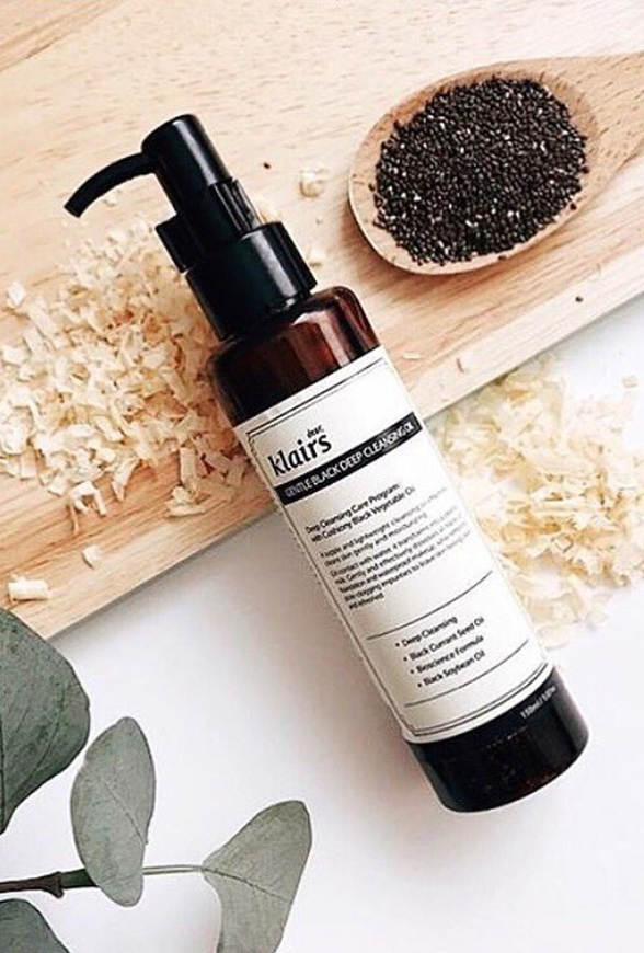 Picture of DEAR KLAIRS | Gentle Black Deep Cleansing Oil