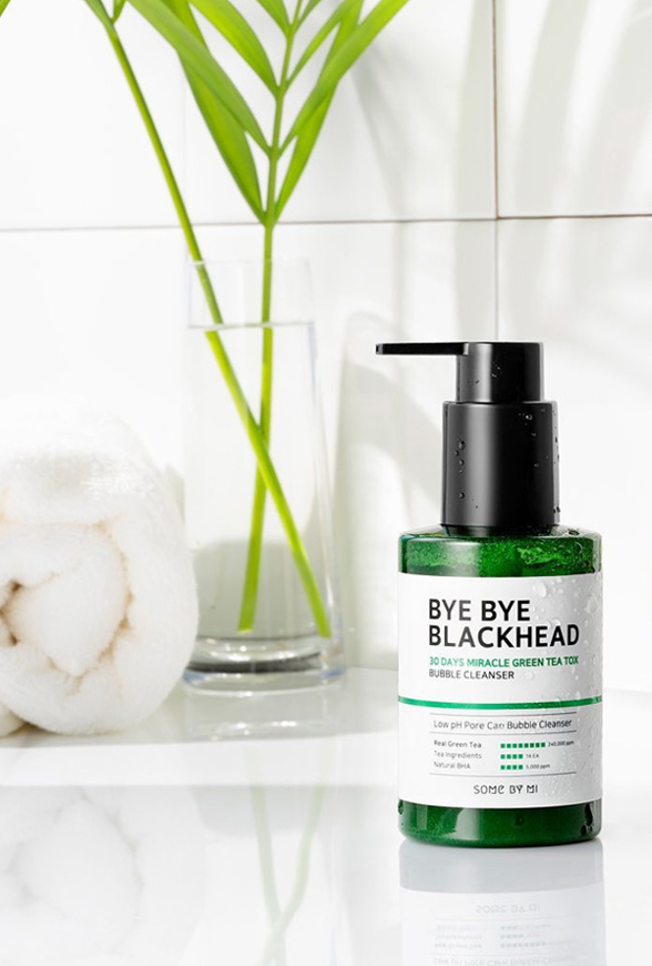 Picture of SOME BY MI | Bye Bye Blackhead 30 Days Miracle Green Tea Tox Bubble Cleanser