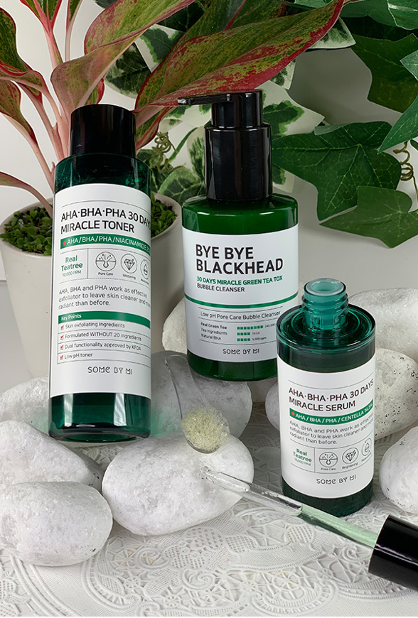 Picture of SOME BY MI | Miracle Set | Bubble Cleanser + Toner + Serum