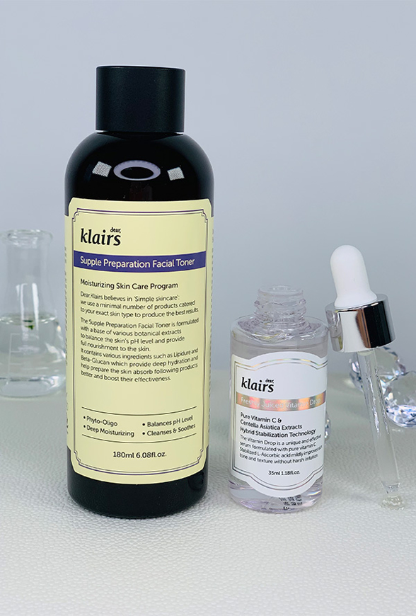 Picture of DEAR KLAIRS | Simply the Best Set | Supple Toner + Vitamin Drop