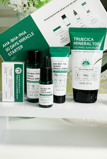Picture of SOME BY MI | Miracle Starter Kit + Truecica Suncream