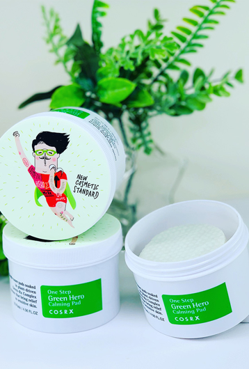 Picture of COSRX | One Step Green Hero Calming Pad 70ea