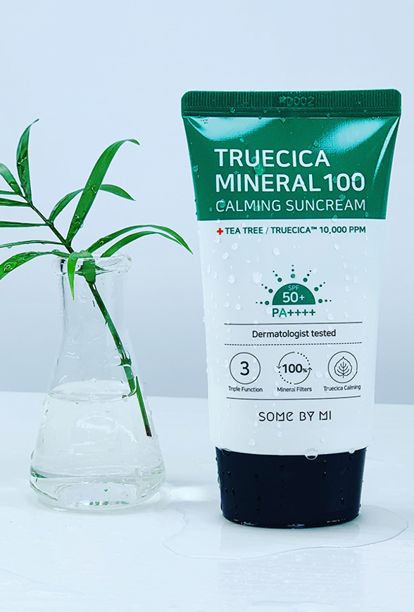 Picture of SOME BY MI | Truecica Mineral 100 Calming Suncream SPF 50PA++++