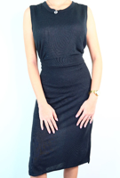 Picture of By FLROOM | TR Two Pieced Dress #Black