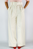 Picture of By FLROOM | Belted Pants #Ivory