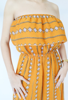 Picture of By FLROOM | Triangle Jumpsuit #Yellow