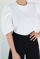 Picture of By FLROOM | Audre Puff Blouse #Ivory