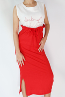 Picture of By FLROOM | Weekly Two Pieced Dress #Red