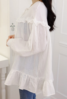 Picture of By SECRET LABEL | Girl's Generation Blouse #White