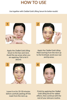 Picture of CLEDBEL | Lifting Solution | Gold Collagen Lifting Mask + Serum