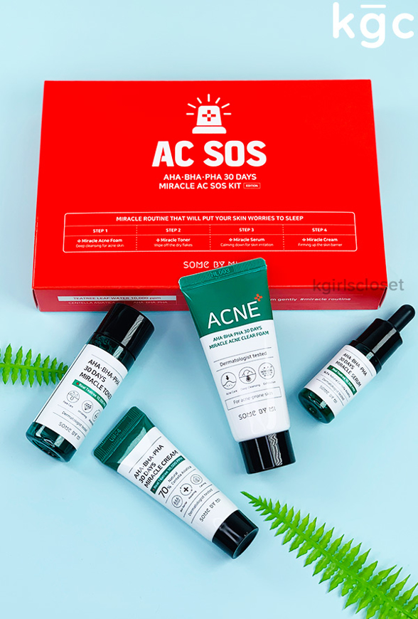 Picture of SOME BY MI   AHA BHA PHA 30 Days Miracle AC SOS Kit