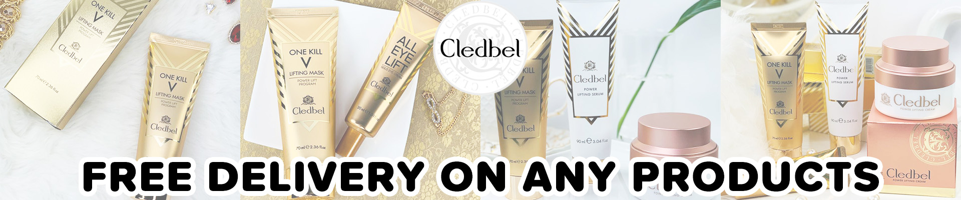 Cledbel Free Delivery on All Products