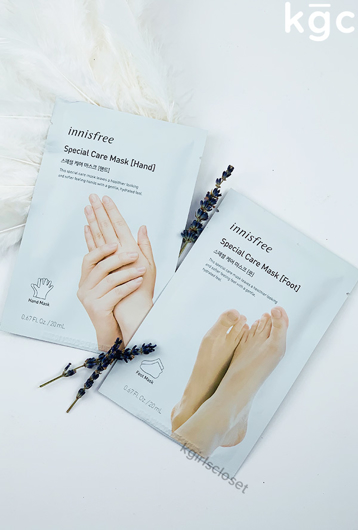 Picture of INNISFREE | Special Hand & Foot Mask Care Set