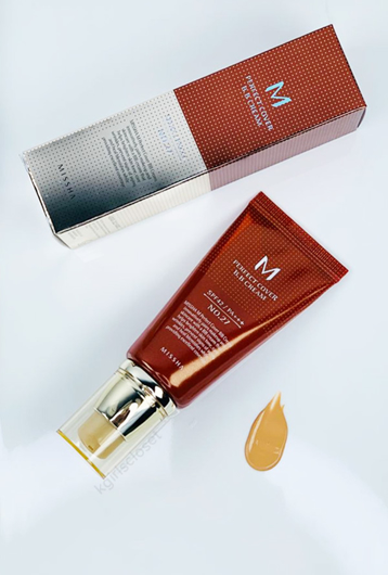 Picture of MISSHA | M Perfect Covering BB Cream #27 Honey Beige