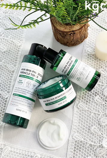 Picture of SOME BY MI | Miracle Set | Toner + Serum + Cream