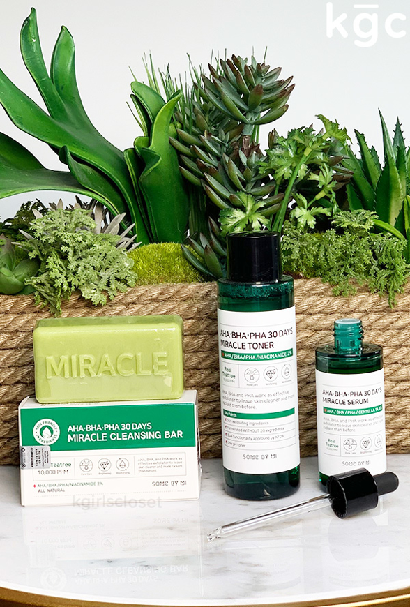 Picture of SOME BY MI | Miracle Set | Cleansing Bar + Toner + Serum