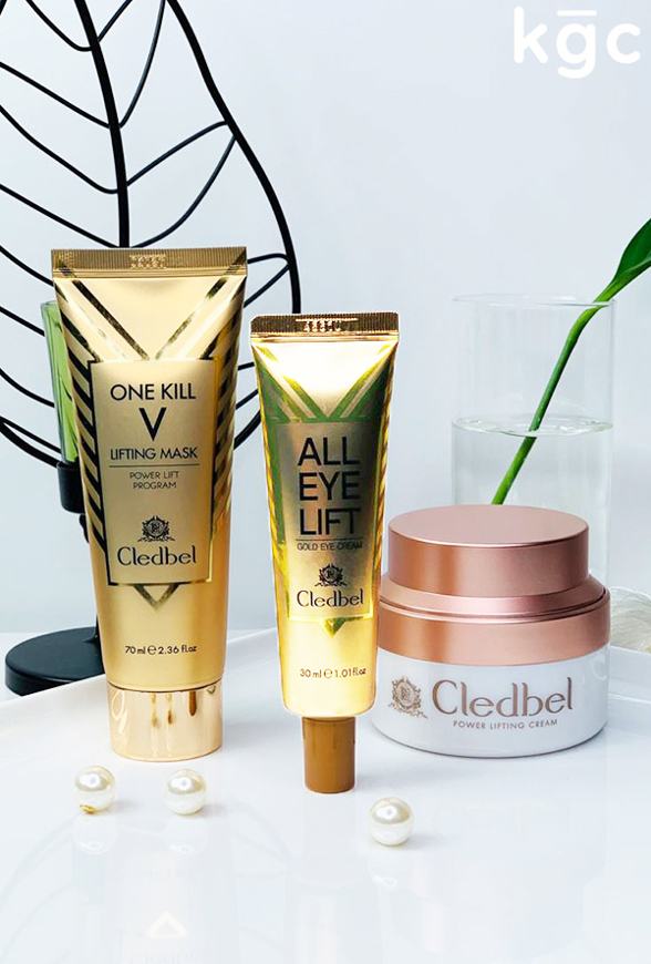 Picture of CLEDBEL | Lifting Solution | Gold Collagen Lifting Mask + Cream + Eye Cream