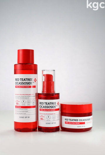 Picture of SOME BY MI | Red Teatree Basic #Toner + Serum + Cream