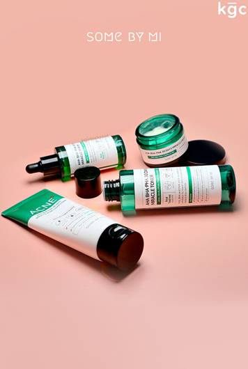 Picture of SOME BY MI | Miracle AC SOS Set | Foam Cleanser + Toner + Serum + Cream