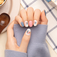 Picture of GELATO FACTORY | Gel Nail Sticker Hotto Pro #Mellow Abstract Painting