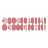 Picture of GELATO FACTORY | Gel Nail Sticker Hotto Fit Basic #Deep Pink Flower