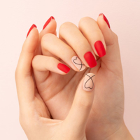 Picture of GELATO FACTORY | Gel Nail Sticker Hotto Fit Pro #Simple Drawing Heart