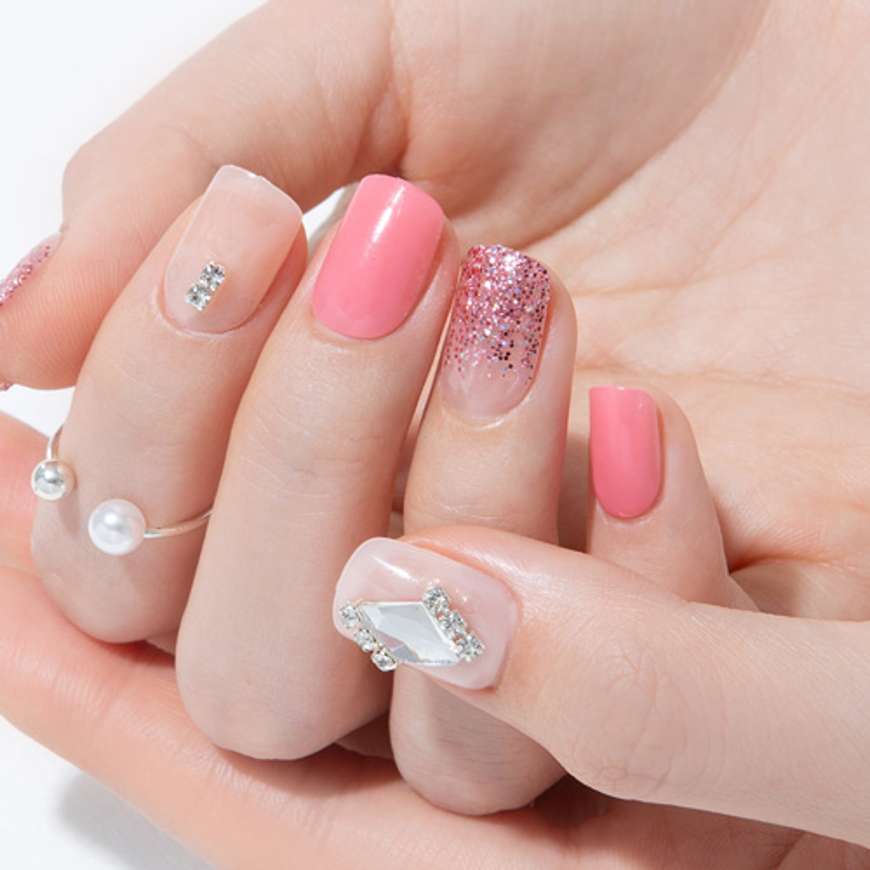 Picture of GELATO FACTORY | Gel Nail Tip Tibu Premium #Diamond Candy