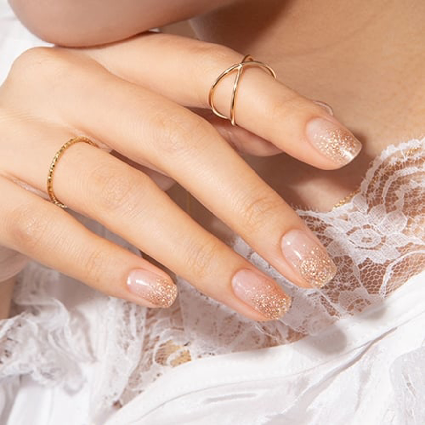 Picture of GELATO FACTORY | Gel Nail Sticker Hotto Pro #Bronze Crystal