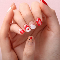 Picture of GELATO FACTORY | Gel Nail Sticker Hotto Pro #Merry Rudolph