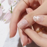 Picture of GELATO FACTORY | Gel Nail Sticker Hotto Basic #Flower Catcher