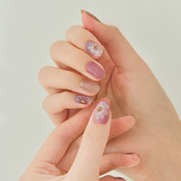 Picture of GELATO FACTORY | Gel Nail Sticker Hotto Basic #Cosmos Drawing