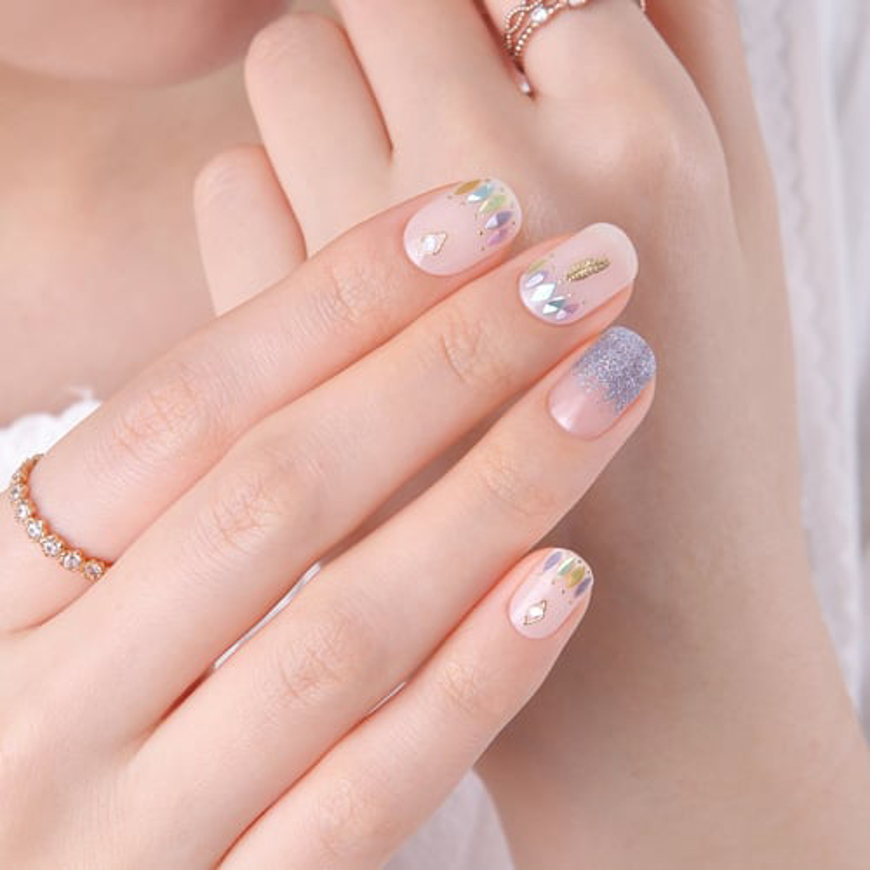 Picture of GELATO FACTORY | Gel Nail Sticker Hotto Basic #Sky Feather